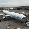 搭乗記 キャセイ 成田⇒香港 CX509 A333 ビジネス