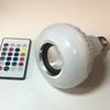 Bluetoothスピーカー内臓!フルカラーLED電球「PLAY ON SD-BT003」到着!自宅の電球に取り付けてみたレビュー