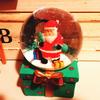 サンタのスノーボール。