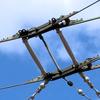 【英国】トロリーバス架線の分岐器を観察する。