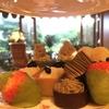 椿山荘の『ル・ジャルダン』でイブニングキュートティー