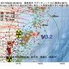 2017年09月22日 08時58分 福島県沖でM3.2の地震