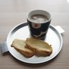 ブルボンスライス生チョコレートで簡単ホワイトチョコラスク(●´ω`●)