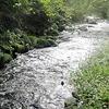 郡上市ひとり旅 大間見川の清流の音