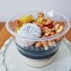 おうちでも美味しい豆花が食べられる 有機豆乳とココナッツの黒胡麻豆花 @成城石井