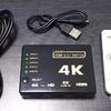 5入力1出力のHDMIセレクタの安いやつを買ってみた件