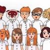 慶明大学附属デンタルクリニックの職員たち