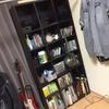 本棚を処分。新しい収納を買う前に、仮収納でしっかりシミュレーションする。