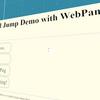 World Jump Demo with WebPanel