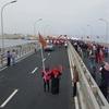 モルディブで 初めて 橋が・・・