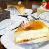 甘すぎないベイクドチーズケーキに大満足♪@鹿児島市谷山中央