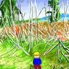 耕作放棄地を見て野菜畑を想像する