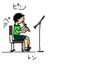 「歌のにじ」4年音楽   グループアンサンブルの基礎は繊細な配慮が必要。