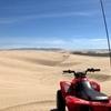 巨大ビーチでの4輪バギー。オセアノ・デューン | カリフォルニアのオフロード