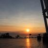 江の島の夕日は本当に美しいと思う。そして江の島灯籠も。
