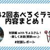 【あべろぐラジオ 対談編】 11月スポンサー様、ちょふさんと対談!『第42回あべろぐラジオ』内容まとめてみたよ!