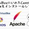 VirtualBoxにいれたCentOS8にApacheをインストールしてみた。