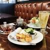星乃珈琲店 モーニング フレンチトーストとサラダトースト