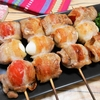 簡単!!トマトとうずらの豚バラ巻きの作り方/レシピ