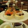 クロテッドクリームとマリアージュフレールのお茶