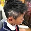 目撃されてます( ̄▽ ̄)トレードマーク! 鈴鹿市のヘアーサロン、バーバーそらまめ、子供の髪型
