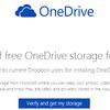 Microsoft、Dropboxユーザーに無料でOneDriveストレージ100GBをプレゼント