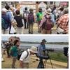 オオヨシキリで夏を感じる…新浜探鳥会