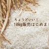 Yahooショッピングストアでお米10㎏販売始めました