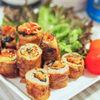 ちょ〜簡単!焼肉のタレで作る☆海苔キムチーズの豚肉巻き