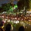 幻想的なタイの灯篭流し:バンコクでロイクラトン祭りを楽しんできた