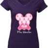 Pretty Breast Cancer Mickey Mouse Pink Warrior shirt