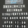 "ACIDMAN×STRAIGHTENER×THE BACK HORN Tour ""THREE for THREE"" at Zepp Osaka Bayside"