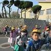 登校の風景 久々の学校へ