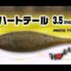 遂に出た‼️ ハートテール 3.5インチ