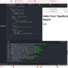 TypeScriptのReact-Webpack DevServer実行