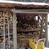 薪小屋と地産地消