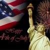7月4日、アメリカ独立記念日。
