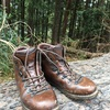 【夏に向けて革製重登山靴の整備】