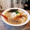 【麺屋 大河 ×餃子 大笑 居酒屋 コラボ ラーメン】「背脂煮干ワンタン麺」立ち呑み餃子 大笑 (だいしょう)