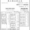 東京モノレール株式会社 第37期決算公告