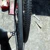 27'後輪タイヤ交換