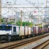 9月11日撮影 東海道線 平塚~大磯間 貨物列車 ② 3075ㇾ 5095ㇾ 2079ㇾ