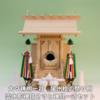 尾州桧で作る神棚 大々神明一社に神具を合わせたときの祭り例