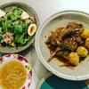 ラム肉とポテト煮込み