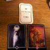 今週末と来週をあらわすカードはマスター、アドバイスカードは経験すること、アロハウハネカードはすべて起こるべくして起こるでした