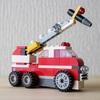 レゴ:消防車の作り方 (オリジナル) クラシック10696だけで作ったよ