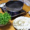 夏のヘルシー過ぎる水餃子鍋