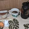 今回のコーヒーはブラジル(浅煎り)~お茶請けはティラミス~