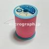 ミシン糸の顕微鏡写真