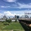 淀川から北梅田(グランフロント大阪付近)   300708
